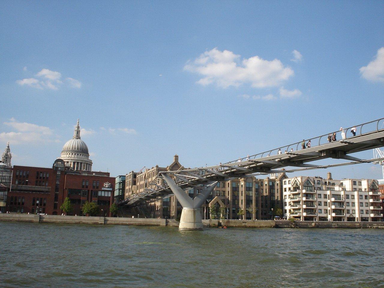 Мост Миллениум, Лондон, Великобритания. Июль, 2007