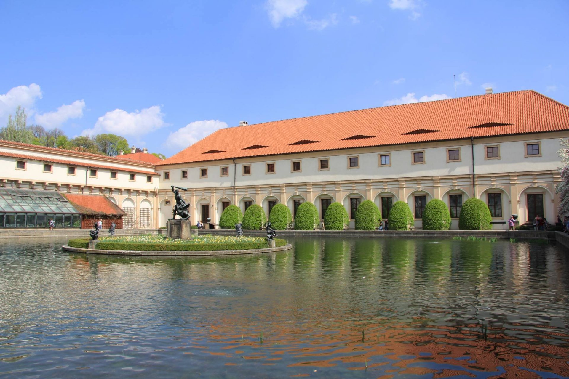 Вальдштейнский дворец, Прага, Чехия. Апрель, 2013