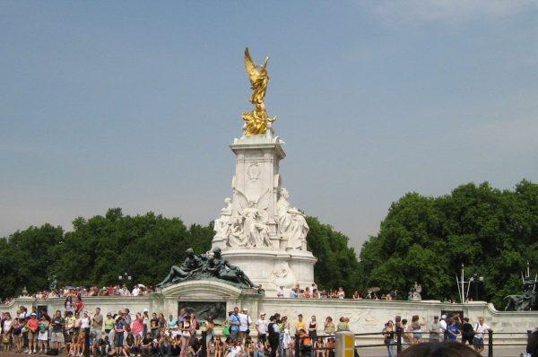 Мемориал Виктории, Лондон, Великобритания. Июль, 2005
