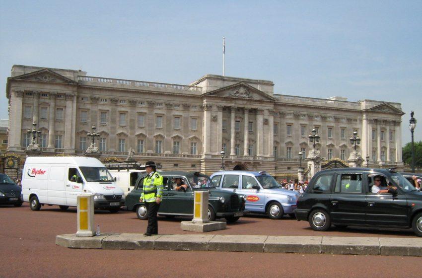 Букингемский дворец, Лондон, Великобритания. Июль, 2007