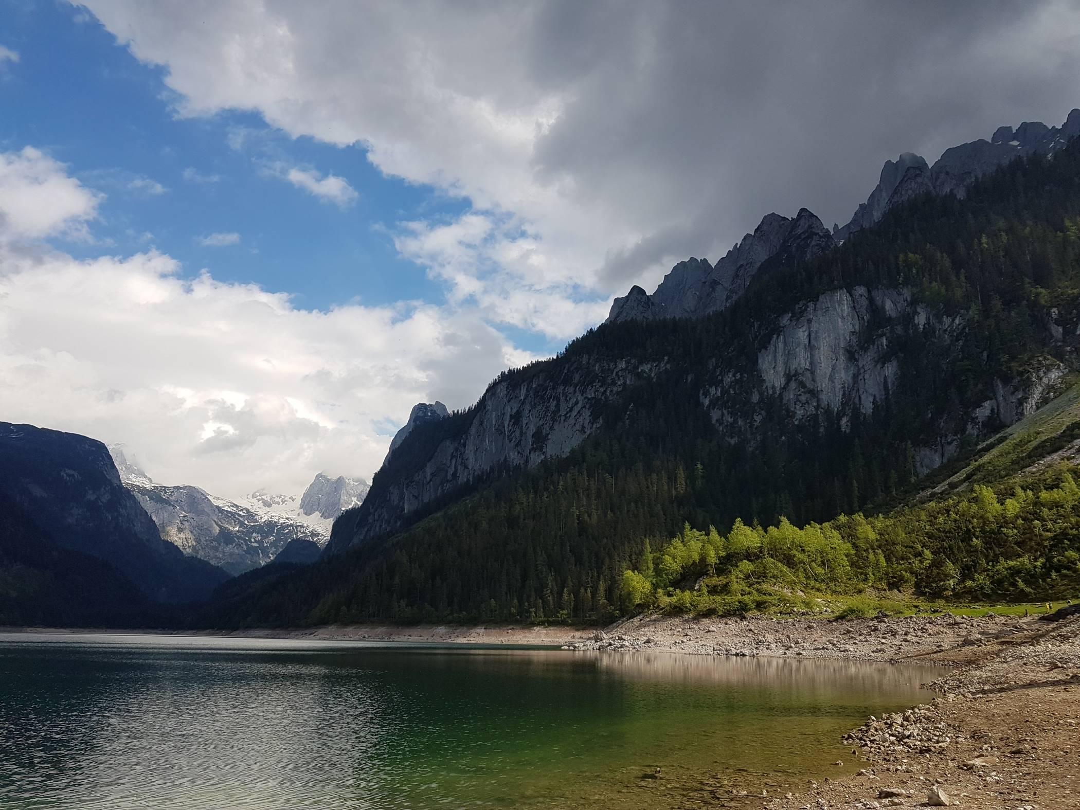 Как мы ехали в Гальштат, но открыли для себя ледниковое озеро и самую высокую гору Верхней Австрии