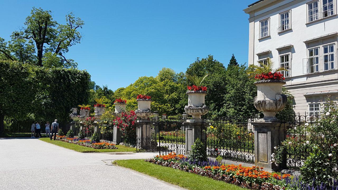 Парк Мирабель, Зальцбург, Австрия. Июнь, 2020