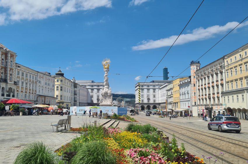 Фоторепортаж из австрийского Линца. Лето 2020 года