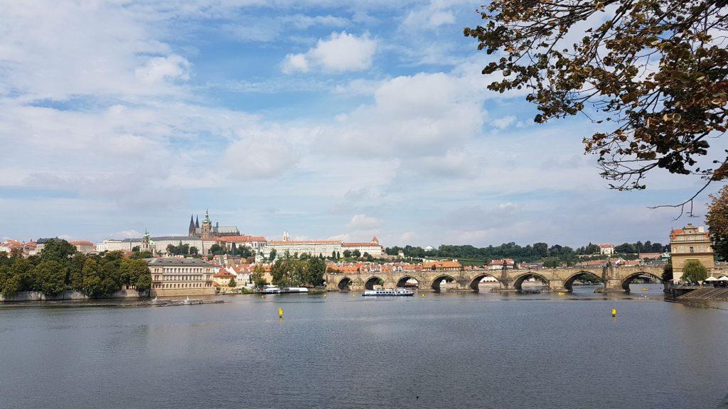 Карлов мост, Прага, Чехия. Сентябрь, 2017