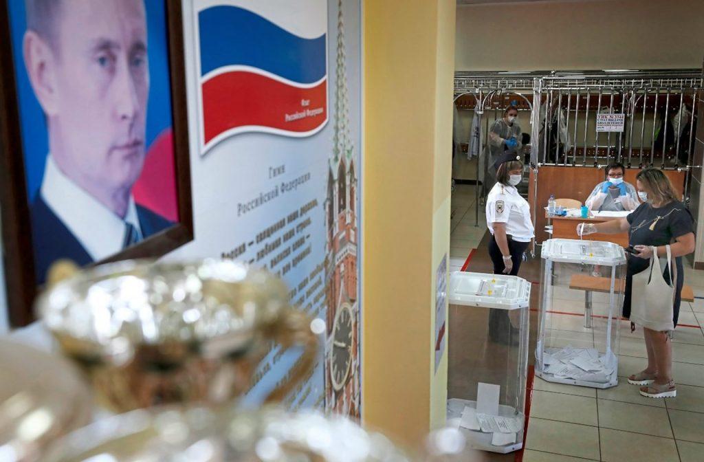 77,9 процента за конституционные изменения Путина — русские в Австрии против