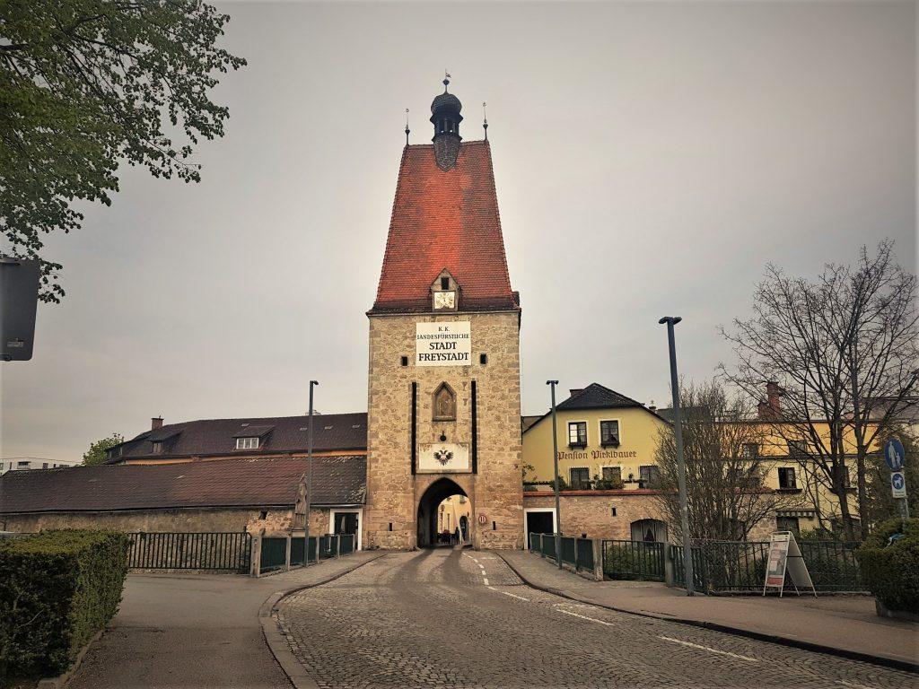 Старый город, Фрайштадт, Австрия. Май, 2019