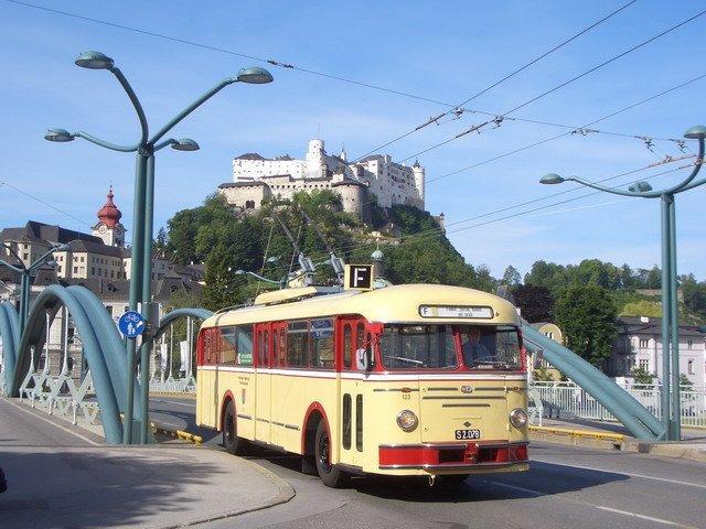 Всё о троллейбусах Зальцбурга
